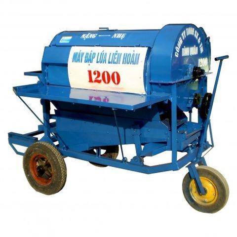 Máy tuốt lúa 1200 chưa bao gồm động cơ