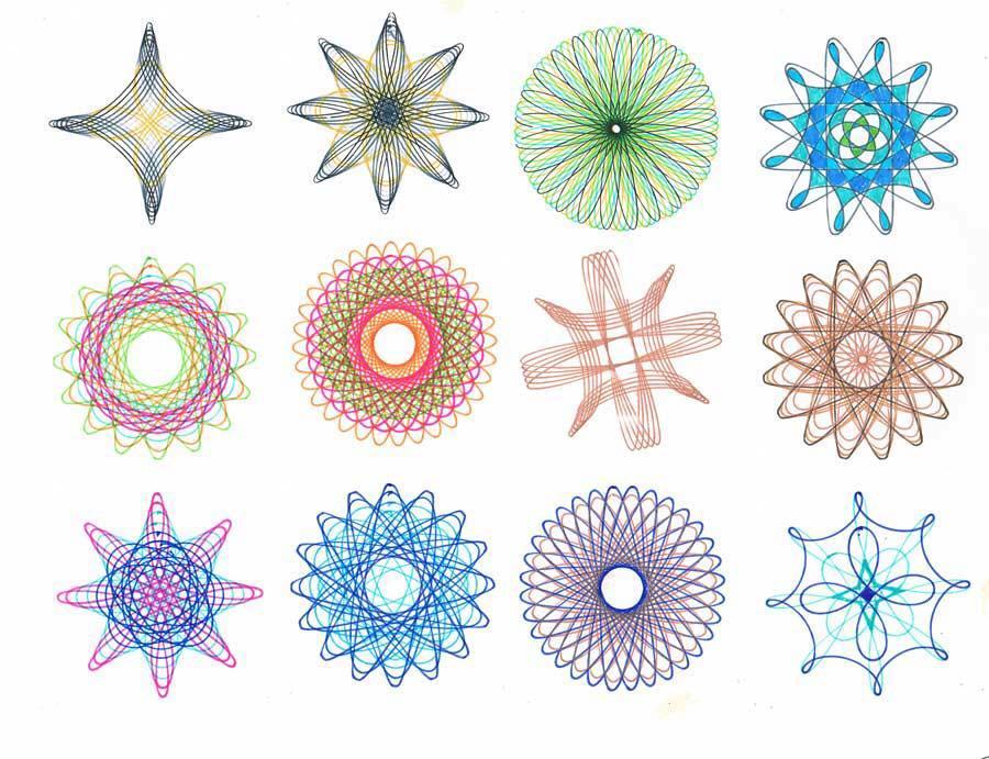 Mua Bộ thước vẽ họa tiết Spirograph cho bạn thỏa sức sáng tạo - Kmart