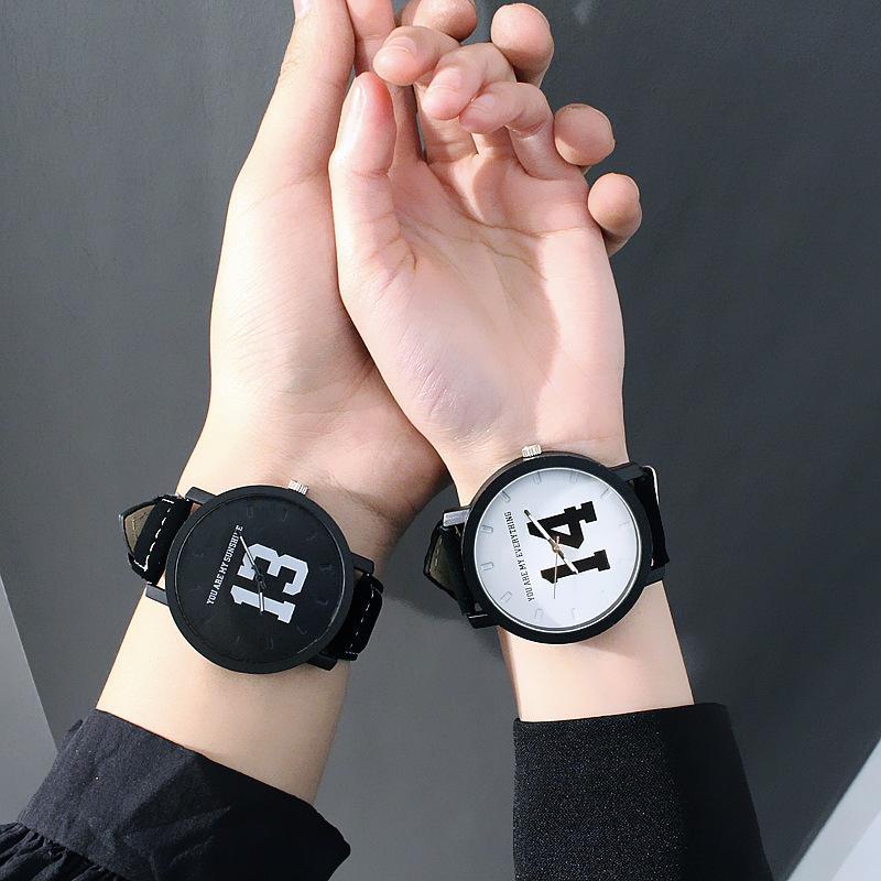 Nơi bán Đồng hồ cặp nam nữ 13-14 siêu dễ thương (Combo cặp nam + nữ)