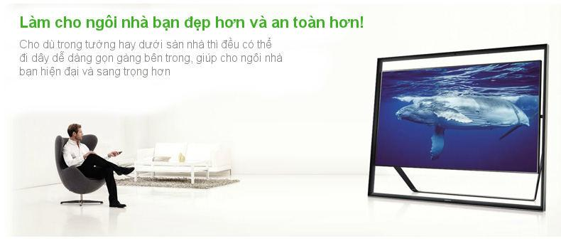 Cáp HDMI sang DIN 19P dài 10-20m cho công trình UGREEN HD125