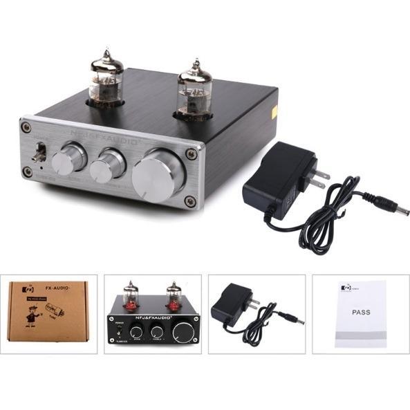 Mã Khuyến Mại Fx Audio Tube 03 6J1 Preamplifier Đen Chỉnh Bass Treble Fx Audio