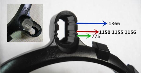 Bảng giá Bộ khung gá lắp để bộ tản nhiệt tương thích nhiều socket Intel Phong Vũ