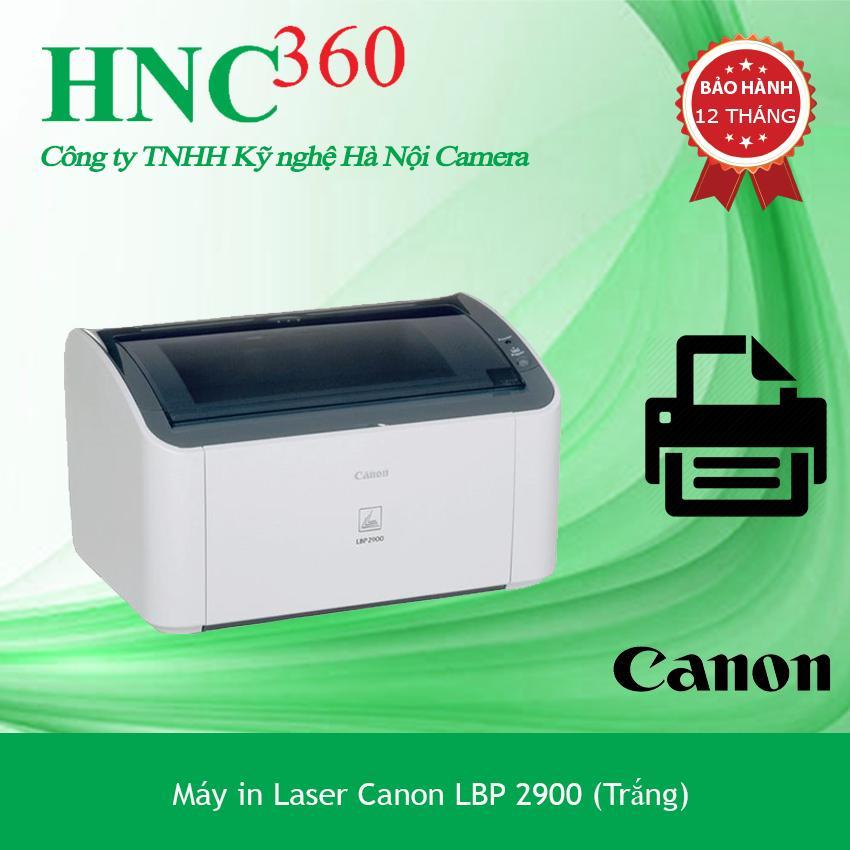 Máy In Laser Canon LBP 2900 (Trắng) - CARDTRIDGE được Bảo Hành Tại Hãng - Hãng Phân Phối Chính Thức Khuyến Mãi Sốc