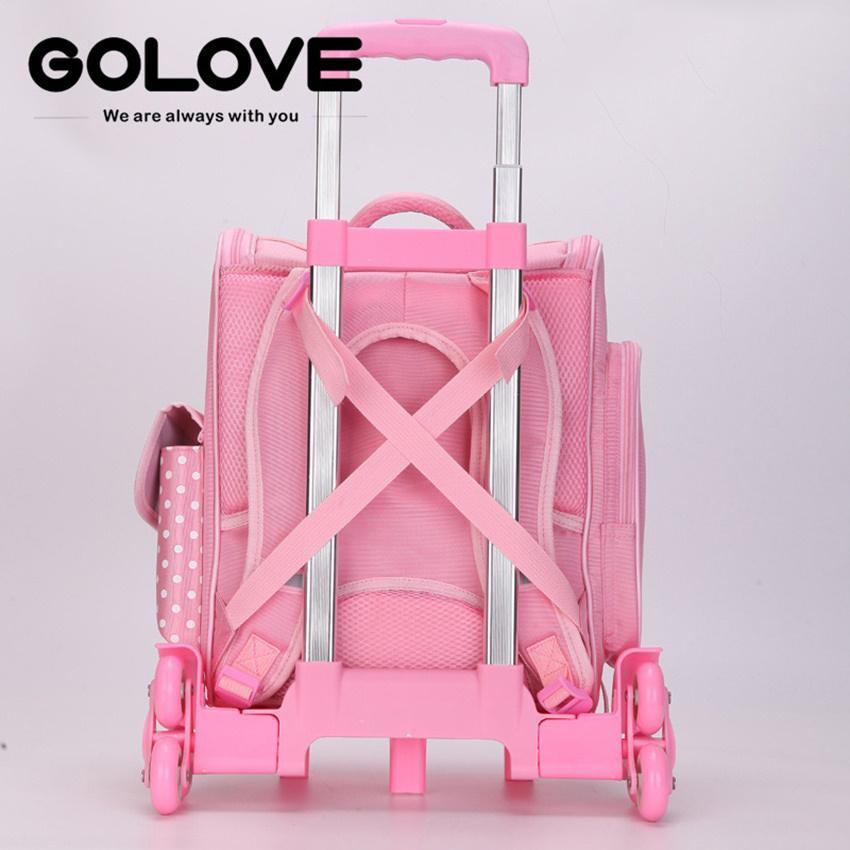 Giá bán balo cặp học sinh.ms 150.sở hữu ngay Balo chống gù lưng học sinh Golove kèm búp bê xinh xắn (Pink)- giảm giá đến 50% ngay hôm nay