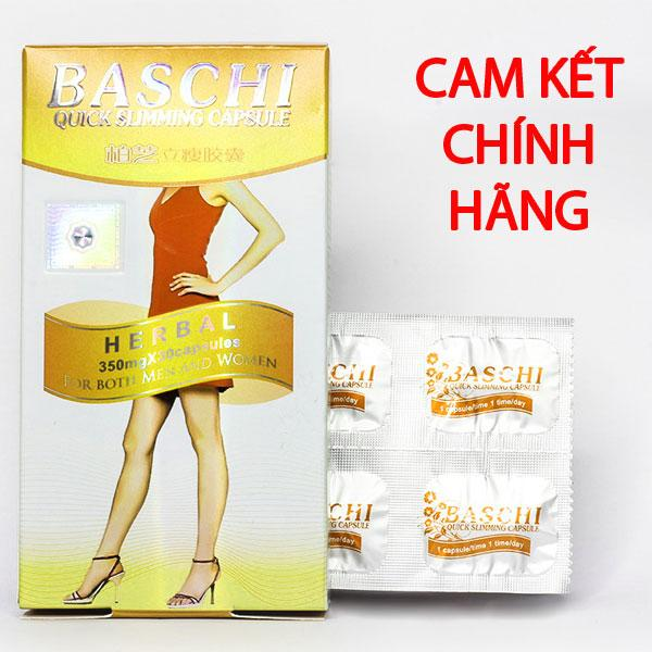 Thuoc giảm cân Baschi cam giúp giảm cân an toàn (30 viên) nhập khẩu