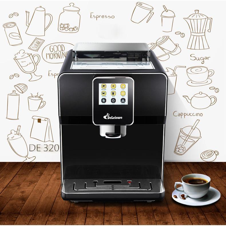 Máy pha cà phê từ hạt thông minh màn hình cảm ứng Deleisure