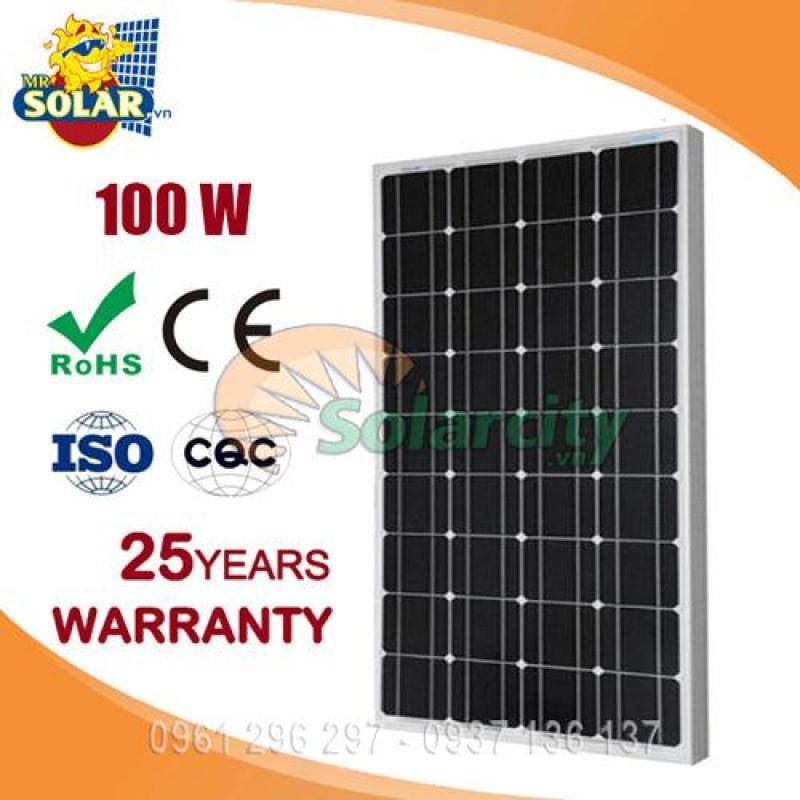 Pin năng lượng mặt trời mono 100w