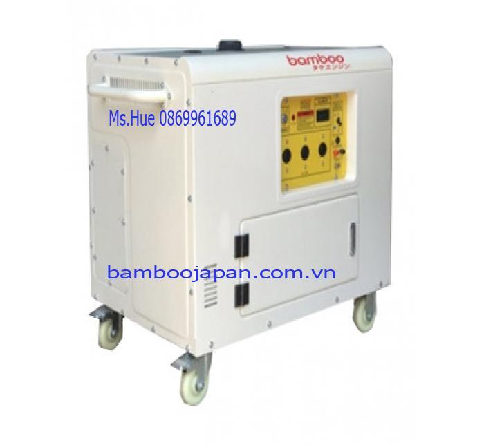 Máy phát điện chạy xăng BmB 12000E 9,5kw dùng le gió tự động AVR