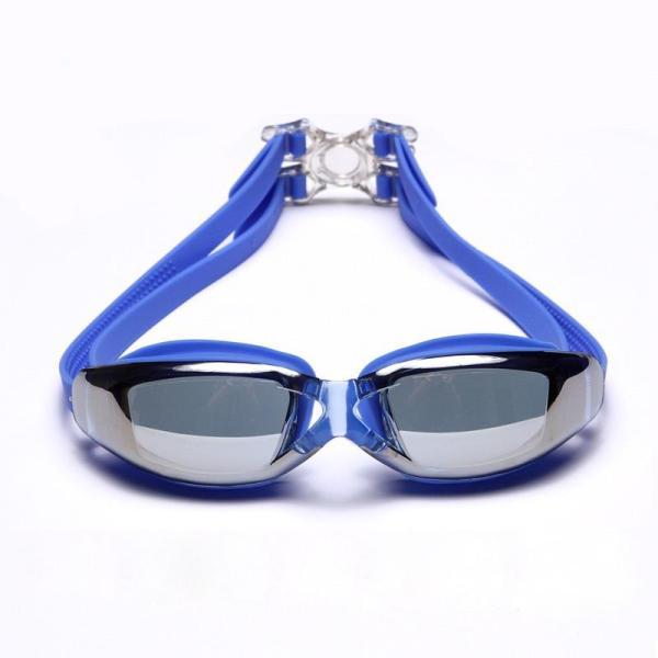 Kính bơi tráng gương cao cấp chống UV, chống mờ, tráng gương, bảo vệ tuyệt đối cho mắt HP9011