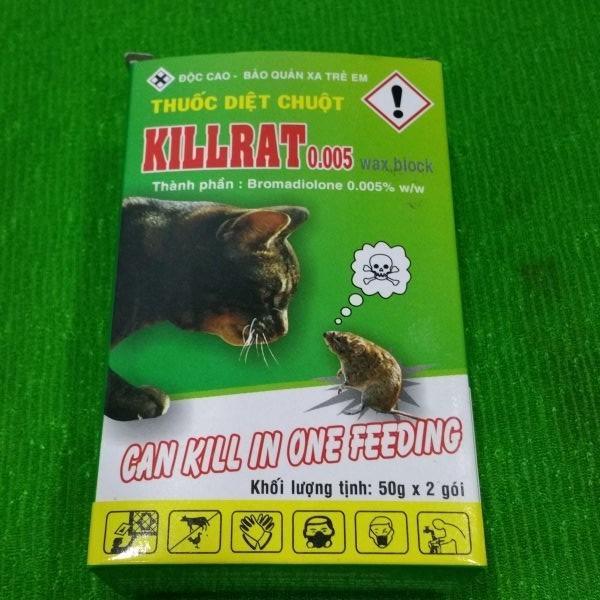 Hình ảnh Thuốc diệt chuột Killrat ( không cần trộn thức ăn ) - 100gr
