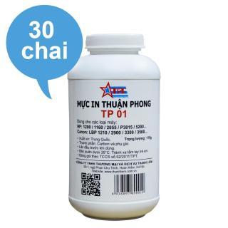 (Bộ 30 chai) Mực đổ Thuận Phong TP01 dùng cho máy in HP Canon thumbnail