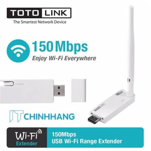 Giá Thiết Bị Kích sóng Wifi Repeater ToToLink EX100 (Trắng) - HÃNG PHÂN PHỐI CHÍNH THỨC