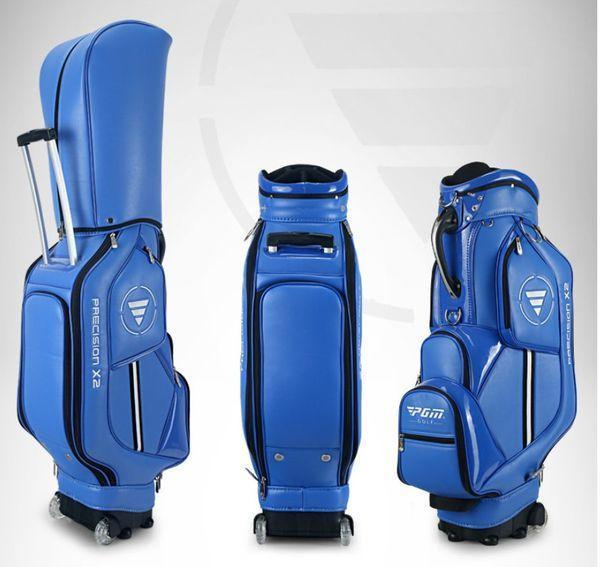 Túi Da Đựng Trọn Bộ Đồ Chơi Golf Có Bánh Lăn PGM QB029