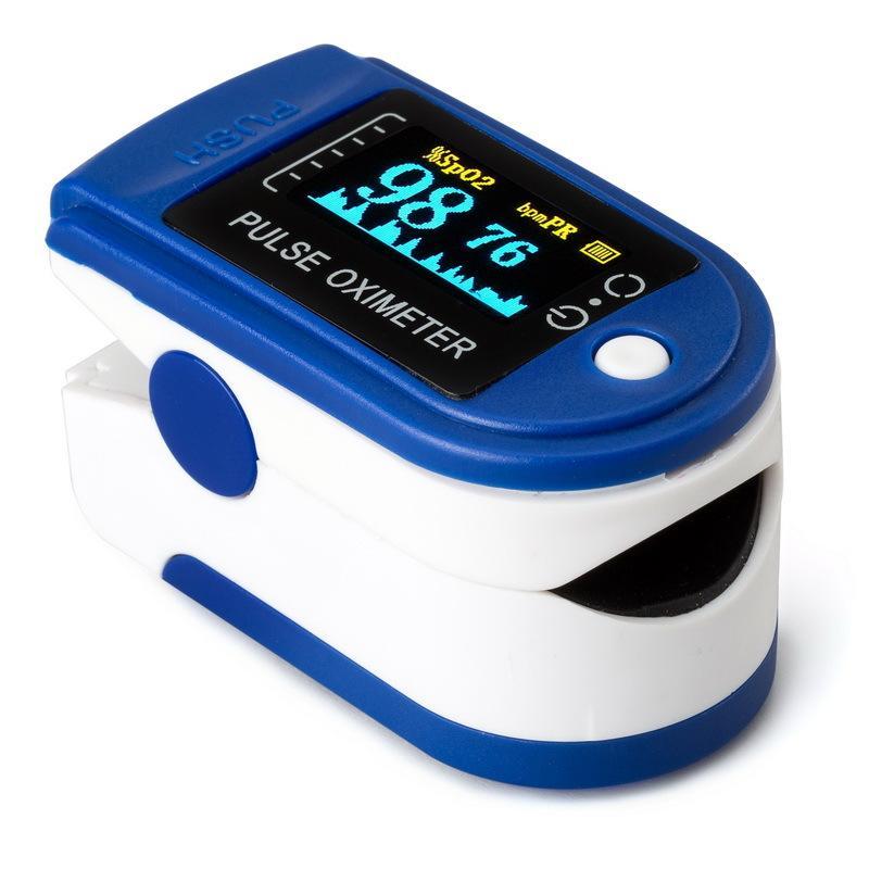 Máy đo nồng độ Oxy trong máu và nhịp tim SPO2 chính hãng