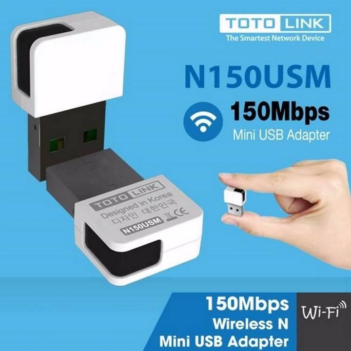 USB THU SÓNG WIFI TOTOLINK N150USM - KÍCH THƯỚC NANO
