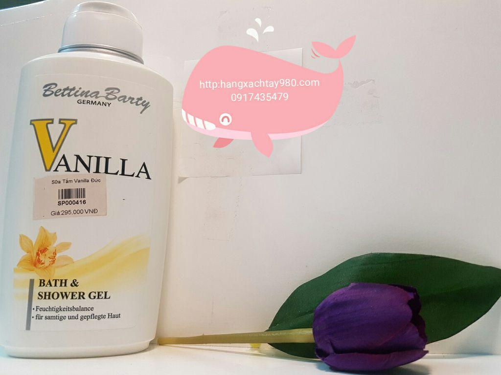 Sữa tắm Vanilla by Bettina Barty tốt nhất