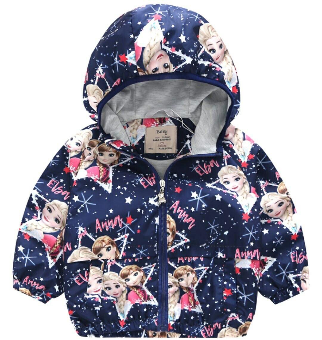 Áo khoác gió 2 lớp bé gái và bé trai zara kid 10-25kg