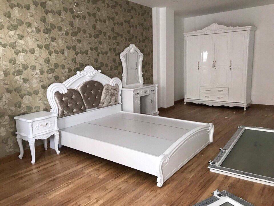 Giường ngủ tân cổ điển 160*200