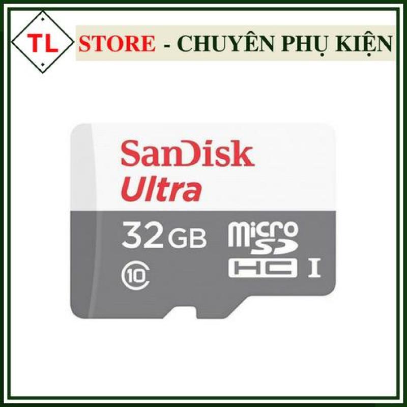 Thẻ Nhớ Micro SD Ultra Sandisk 32GB Class10-80MB/s Bảo hành 5 năm