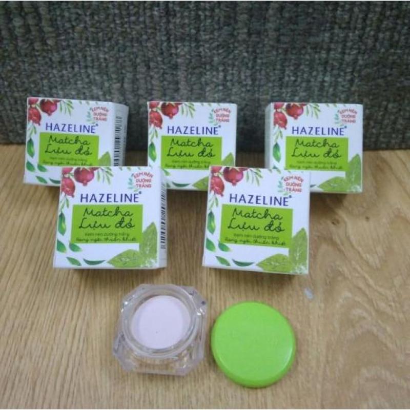 Combo 50 hộp kem nén Hazeline Matcha lựu đỏ 3g nhập khẩu