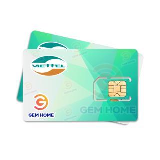 Sim 3G 4G Viettel D500 4Gb tháng Trọn gói 12 tháng - Không mất tiền gia hạn thumbnail