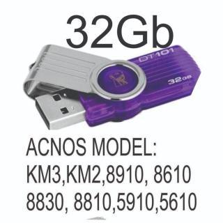 [HCM]USB 32 gb Kho Nhạc karaoke Dành Cho Đầu Acnos thumbnail