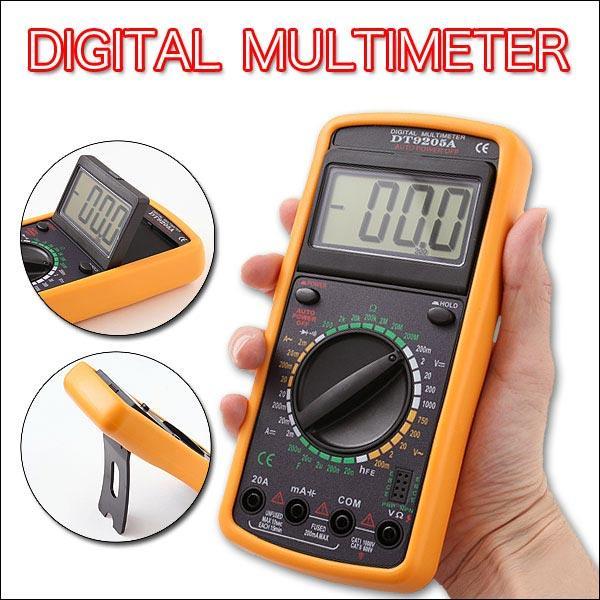 Đồng Hồ Đo Vạn Năng Digital Multimeter (màu vàng)