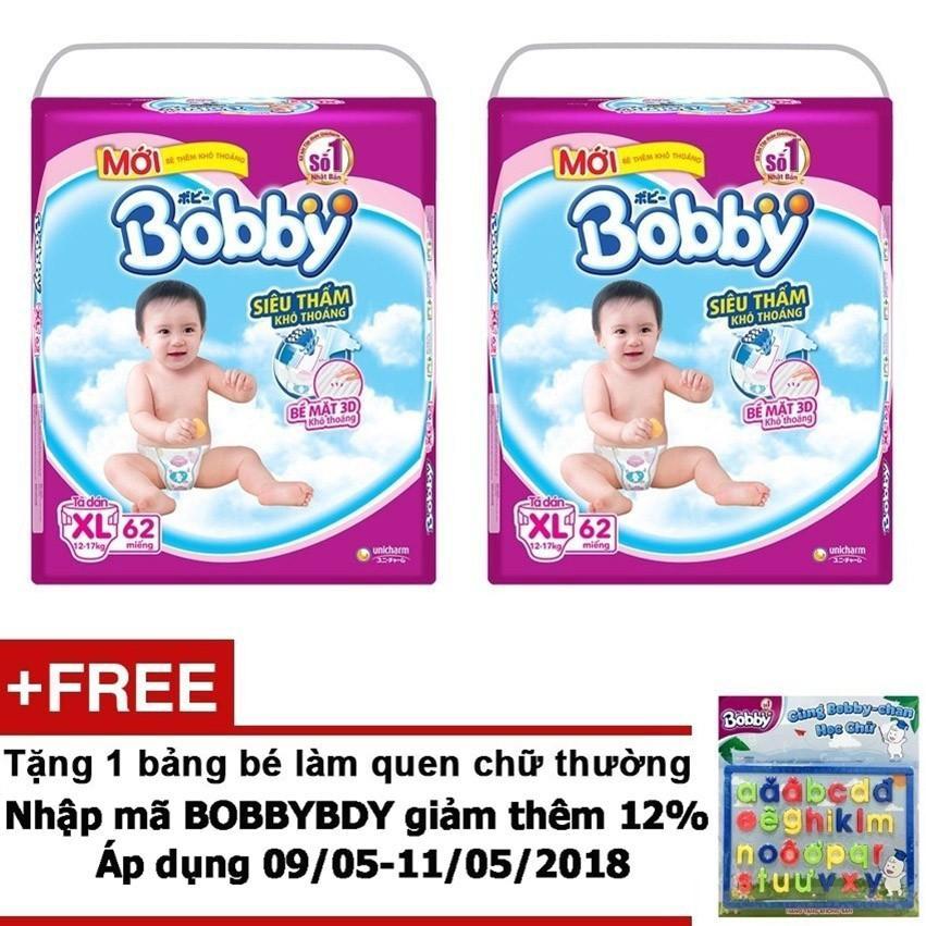 Giá Bán Bộ 2 Ta Giấy Bobby Sieu Mỏng Xl62 Tặng Bảng Be Lam Quen Chữ Thường Trị Gia 80 000Vnd Mới Rẻ