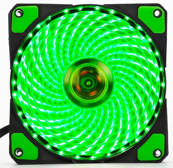 Giá Fan Case 12cm Coolman 33 Led Green