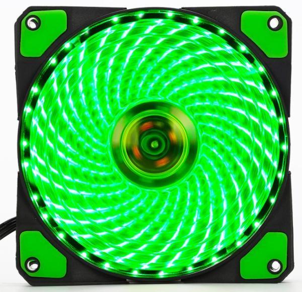 Bảng giá Fan Case 12cm Coolman 33 Led Green Phong Vũ