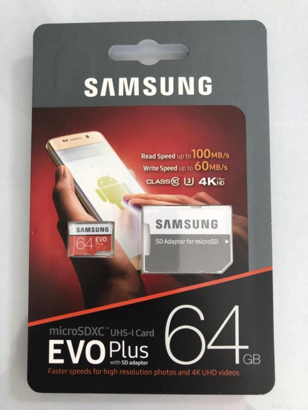 Thẻ nhớ Samsung Evo Plus SD Class 10 - 64GB