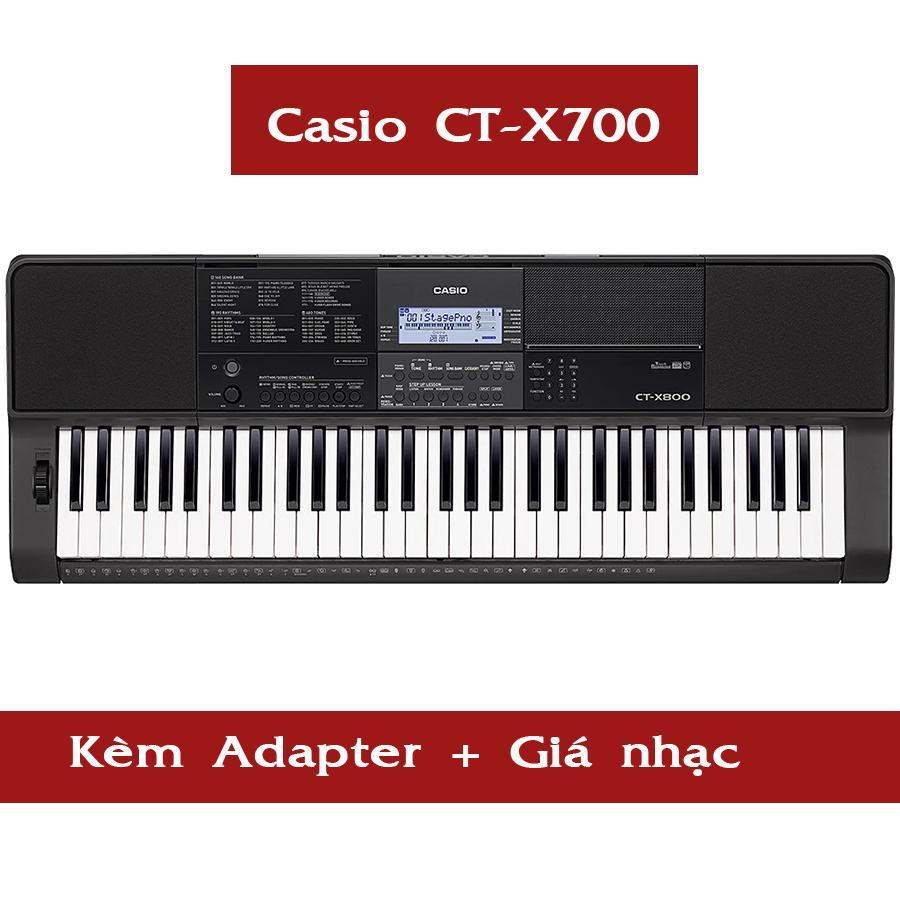 Đàn Organ Casio CT-X700 Kèm AD + Giá Nhạc ( CTX700 ) - HappyLive Shop Đang Ưu Đãi