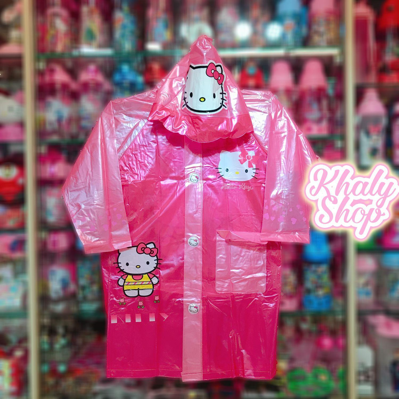 Áo Mưa Bóng Hình Mèo Kitty Màu Hồng Dành Cho Trẻ Em Có Nhiều Size (s-M-L-Xl-Xxl) - 36kt6026138 By Khaly Shop