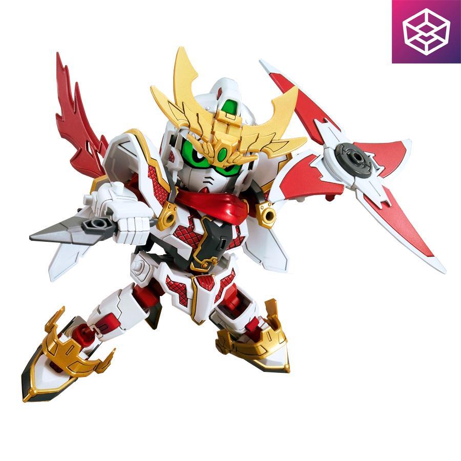 Hình ảnh Mô Hình Lắp Ráp Gundam Bandai SD Build Divers 013 RX-Zeromaru [Bandai-SD]