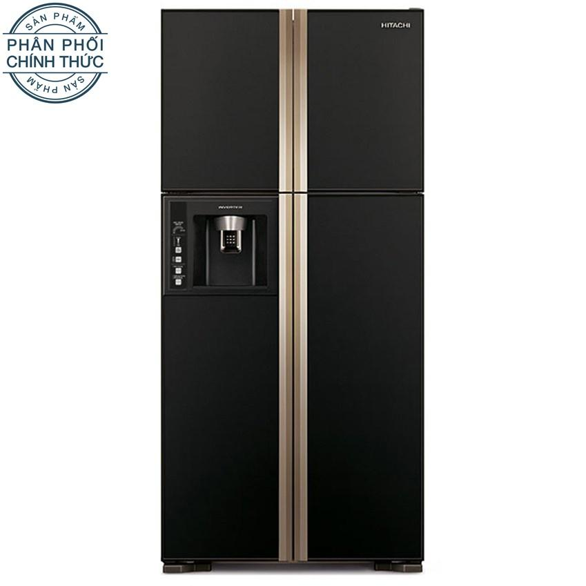 Giá Bán Tủ Lạnh Hitachi R W660Fpgv3X Gbk 540L 540L 4 Cửa Đen Tốt Nhất