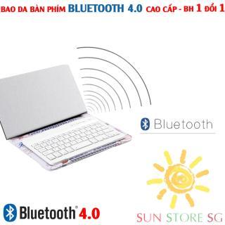 Mua Bàn Phím Bluetooth - Bao Da Kiêm Bàn Phím Bluetooth Hỗ Trợ Các Dòng Điện Thoại Ios, Android, Windows Với Kiểu Dáng Mornh Và Gọn Nhẹ, Tiện Lợi Cho Việc Cầm Nắm Và Di Chuyển Bảo Hành 1 Đổi 1 Toàn Quốc Mã Bh 177 thumbnail