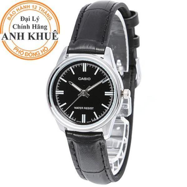 Đồng hồ nữ dây da Casio Anh Khuê LTP-V005L-1AUDF