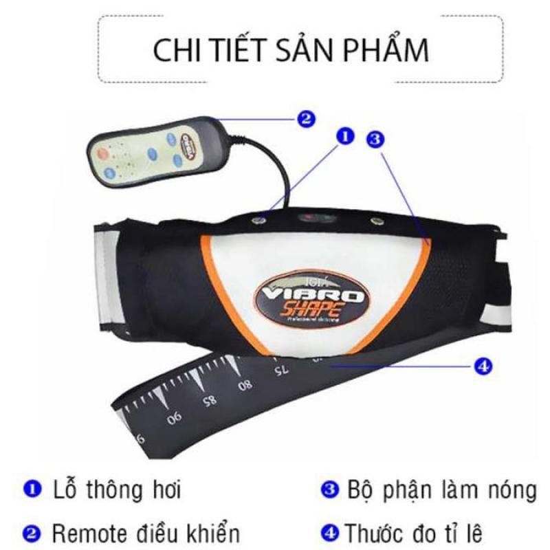 Máy matxa bụng nào tốt Đai Vibro cao cấp, giúp làm thon các bộ phận mông, đùi, bụng,….nhanh chóng hiệu quả,, bảo hành 1 đổi 1 bởi Bình An Shop  Mẫu SP 111