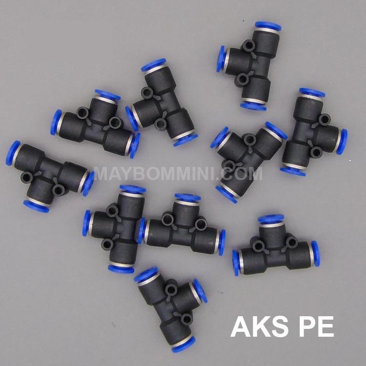 Hình ảnh Nối nhanh AKS chia 3 PE-10 bộ 5 cái