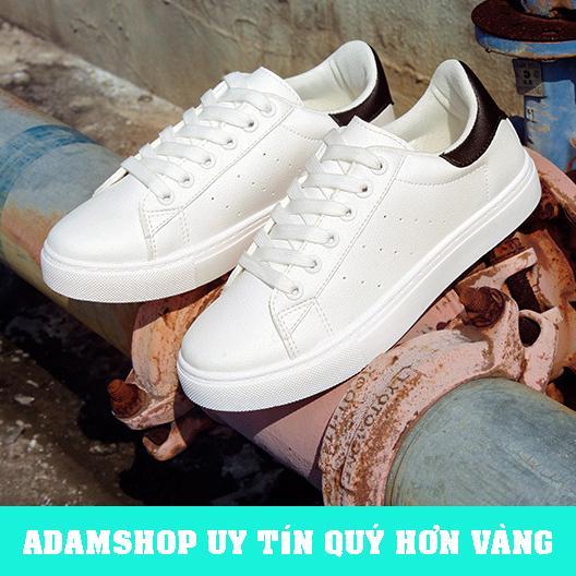 Mã Giảm Giá Giày Thể Thao Nam Trắng 2019 (Giá Cực Sốc) - ADAM SHOP(AD05)