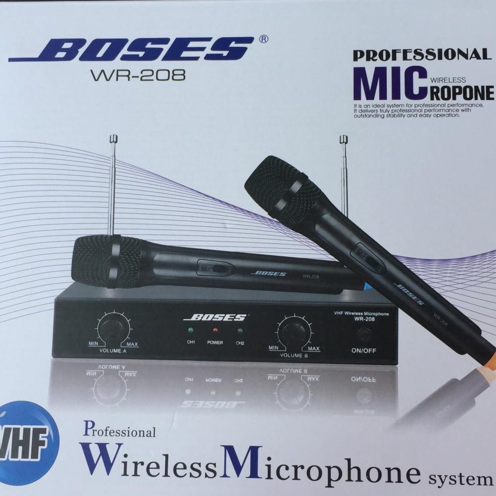 Hình ảnh Micro không dây BOSES dành cho dàn karaoke gia đình hát chuẩn