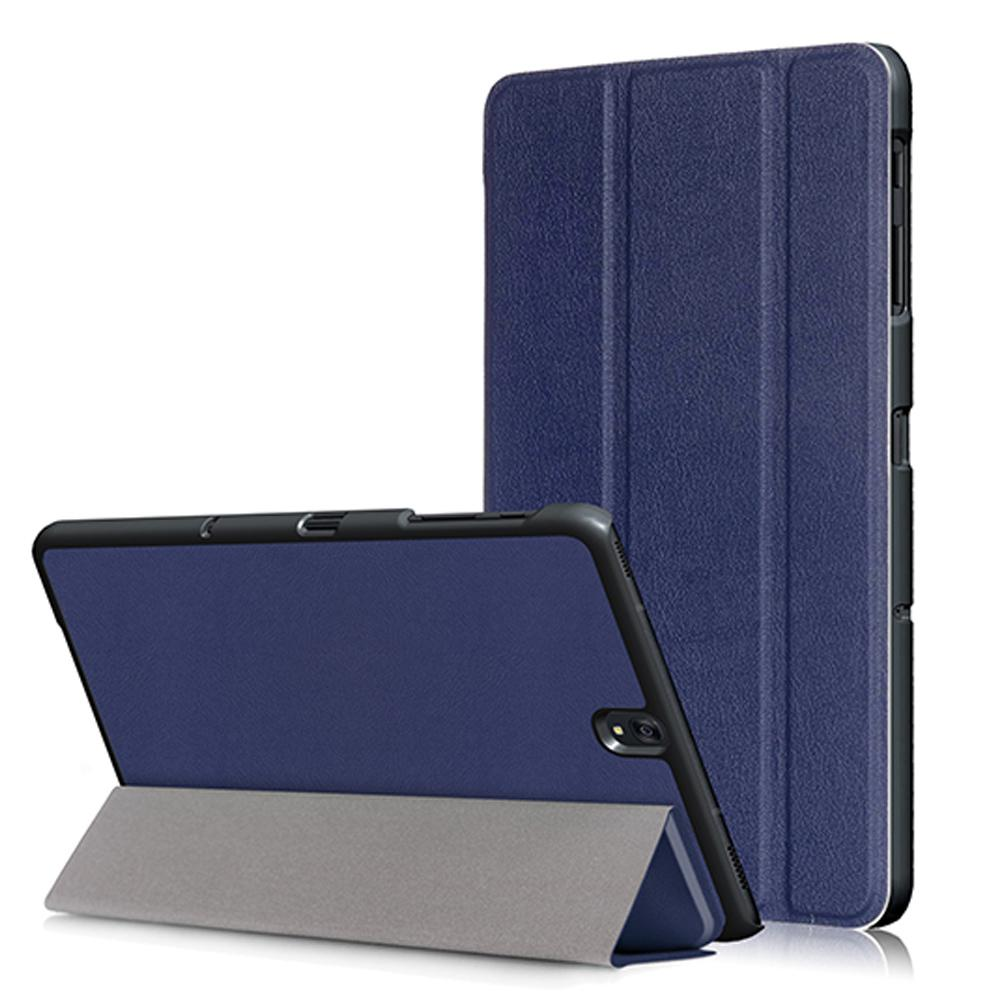 Mua Fashion Portable Tablet Case Stand Smart Foldable Ultra Slim Lightweight Protection Sleeve Shell Cover With Automatic Sleep Wake Function For 9 7Inches Samsung Galaxy Tab S3 Sm T820 Sm T825 Model Tablets Blue Intl Trực Tuyến Rẻ