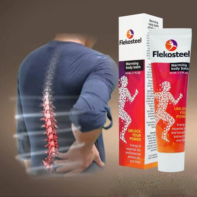 Kem sinh nhiệt giảm đau xương khớp Flekosteel 50ml nhập khẩu