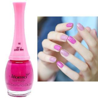 Sơn móng tay siêu sang chảnh Aroma Nails Lacquer Cao cấp Hàn Quốc No.105 (Hồng tím) 12ml thumbnail