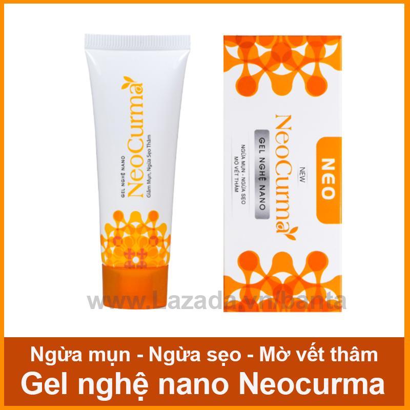 Hình ảnh Gel nghệ nano mát da, mờ sẹo, mờ vết thâm, ngăn ngừa mụn Neocurma