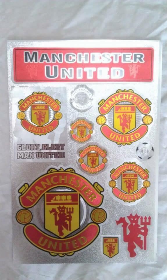 Mã Giảm Giá tại Lazada cho Hình Dán Sticker Decal Câu Lạc Bộ MU, Chelsea, Liverpool, Arsenal, Real, Barca Trang Trí Xe Máy, Laptop, Mũ Bảo Hiểm