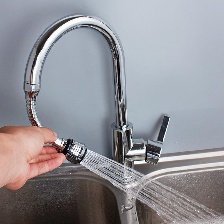 Hình ảnh Dây đầu vòi bồn rửa xoay 360 độ, có lọc nước DL65