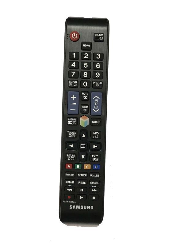 ĐIỀU KHIỂN TIVI AA59-00582A for Samsung smart internet (Black) chính hãng