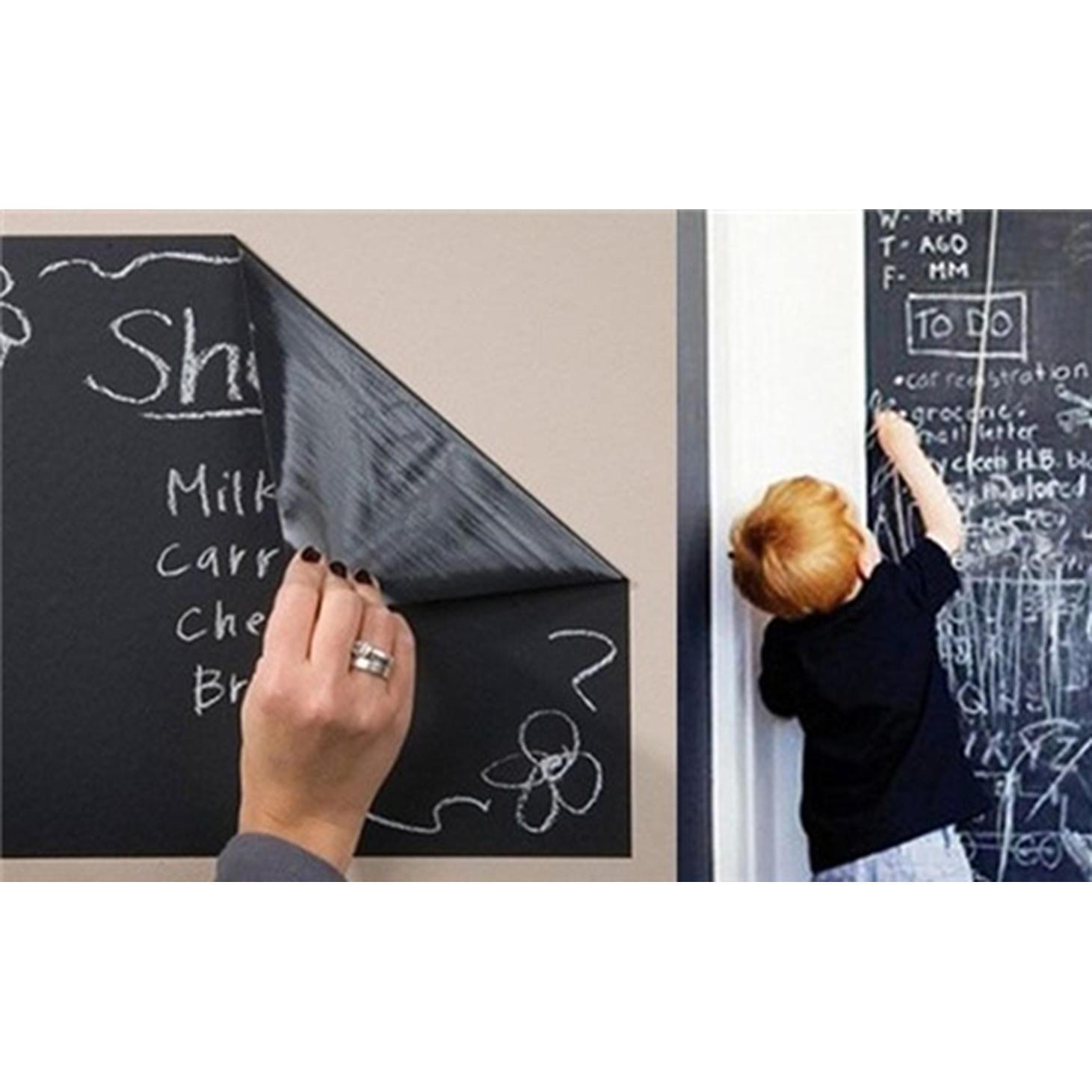 Hình ảnh Bảng phấn dán tường cho bé (Đen) dễ thương