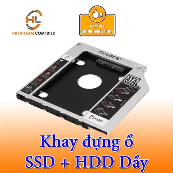 Bảng giá Caddy Bay SATA 3.0 12.7mm Dầy Gắn Thêm Ổ Cứng Cho Laptop Phong Vũ